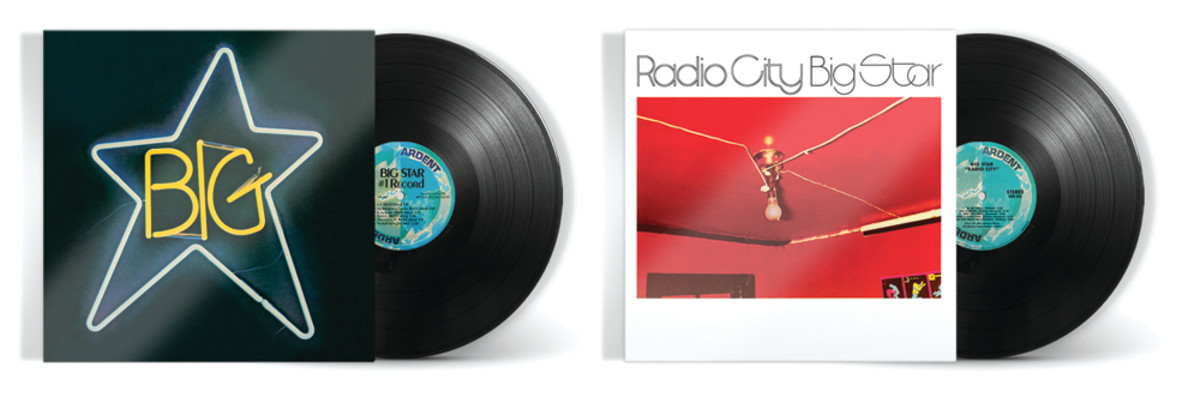 Big Star's 180-gram vinyl reissues of #1 Record and Radio City via Craft Recordings.