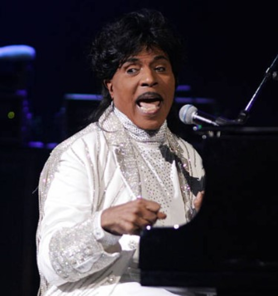 Little Richard in concert, 2016, Getty Images, photo by Tom Briglia/FilmMagic