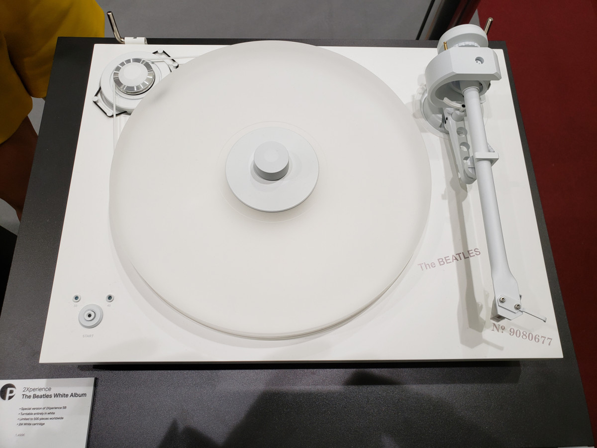 The Beatles White Album turntable.