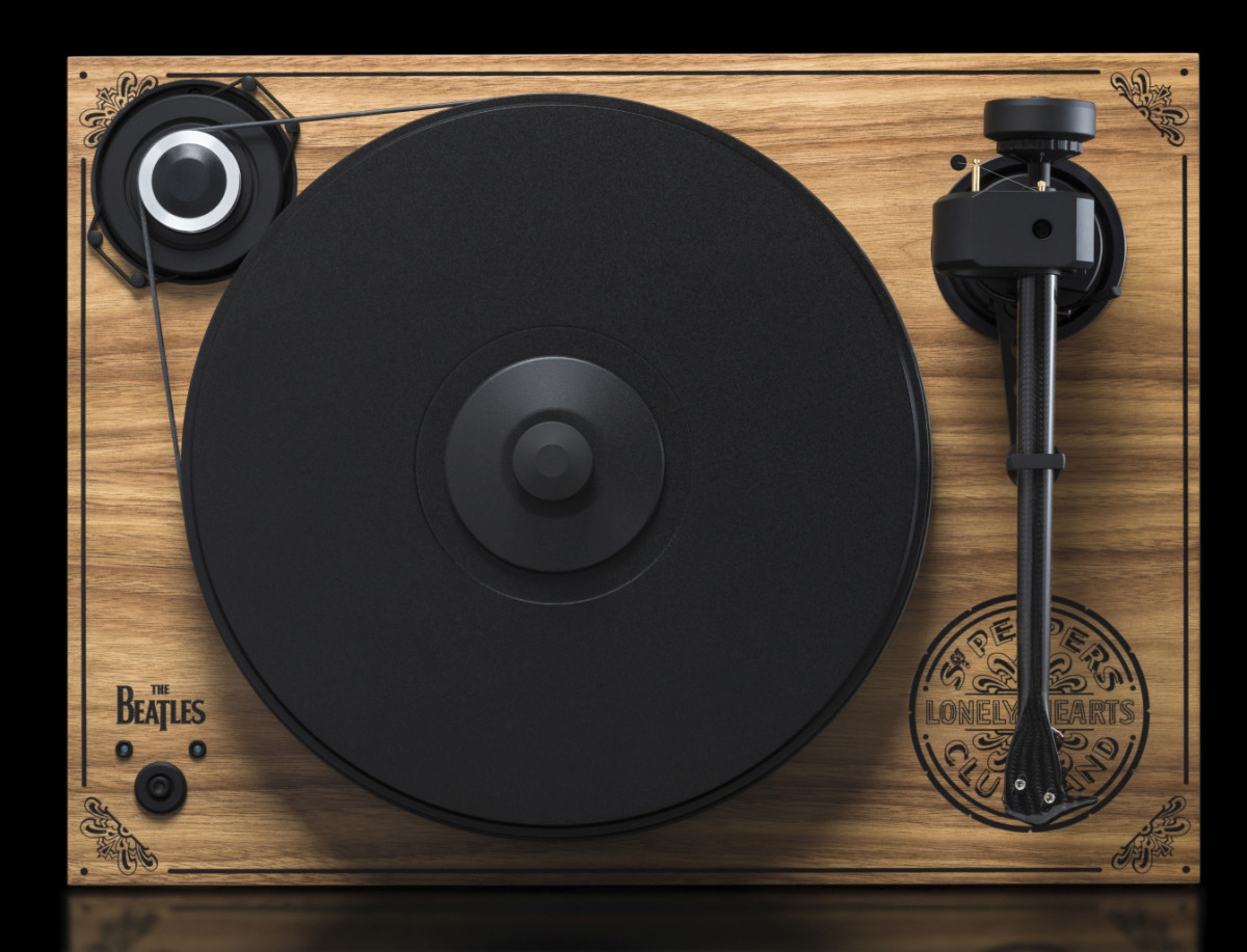 Pro-Ject's Limited Edition Sgt. Pepper turntable.