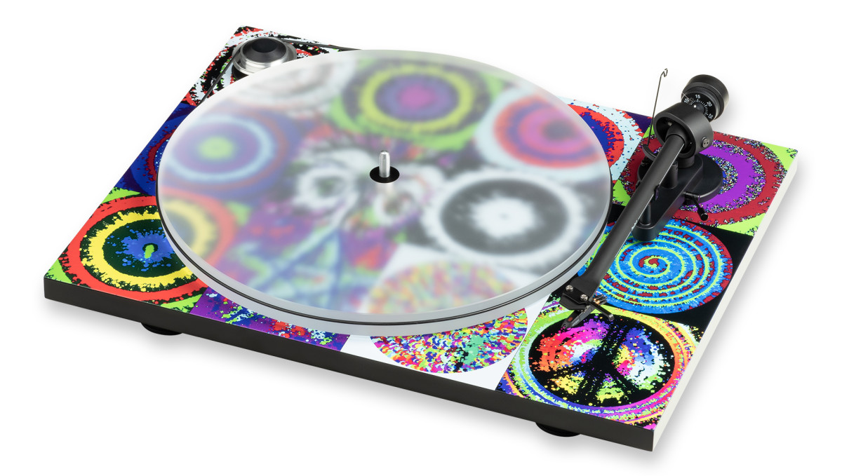 Ringo's Peace & Love edition turntable.