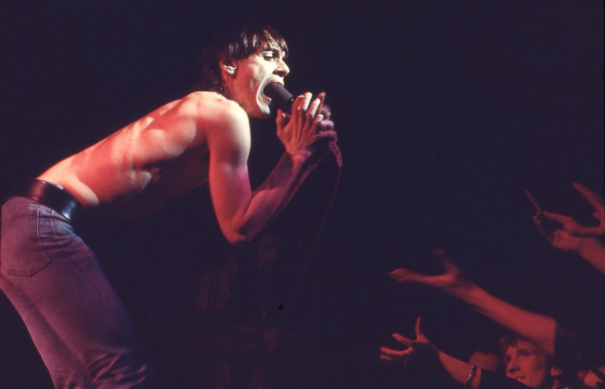 Iggy Pop, live. Photo by Barry Plummer, courtesy of UMe
