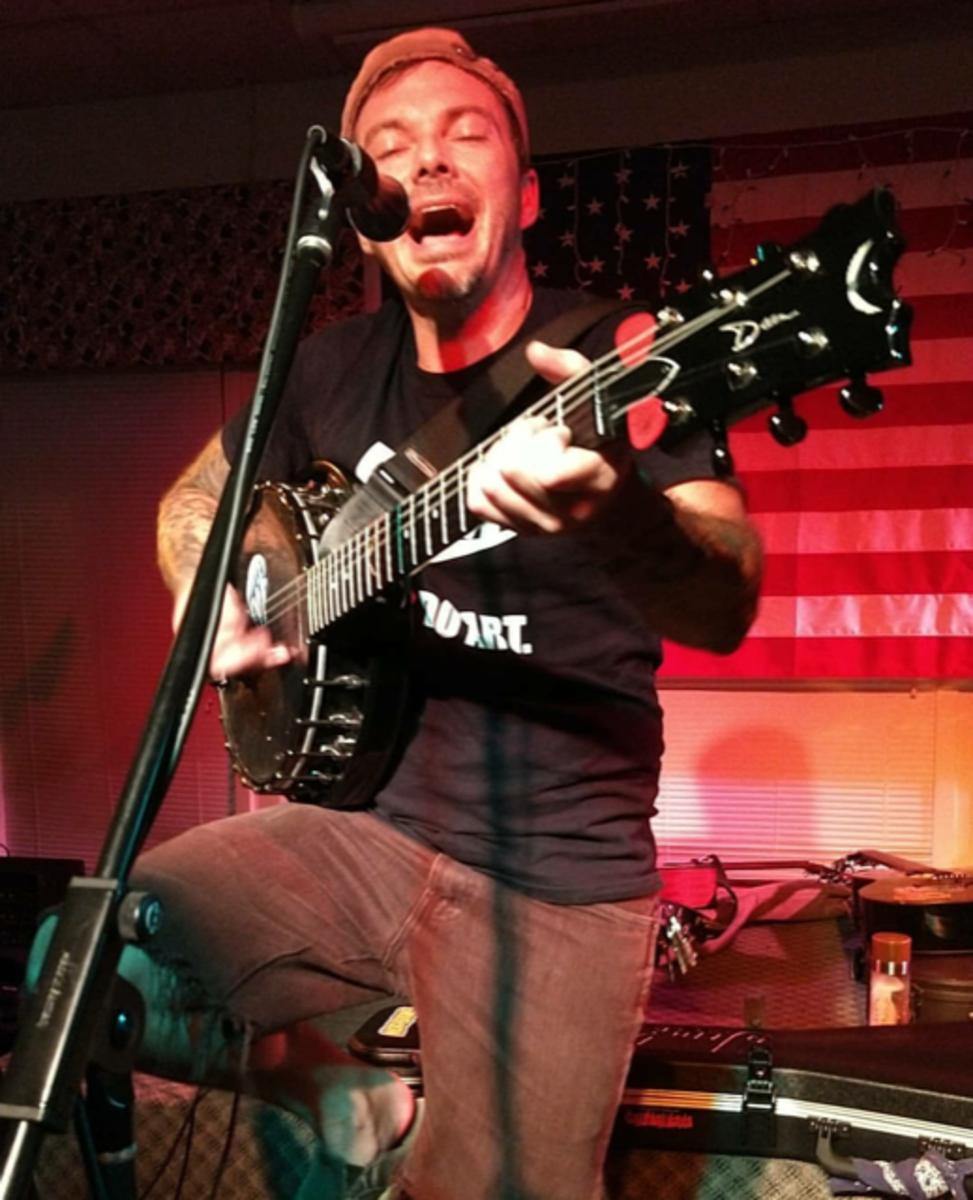 Joe Whiteford of Harley Poe, publicity photo.