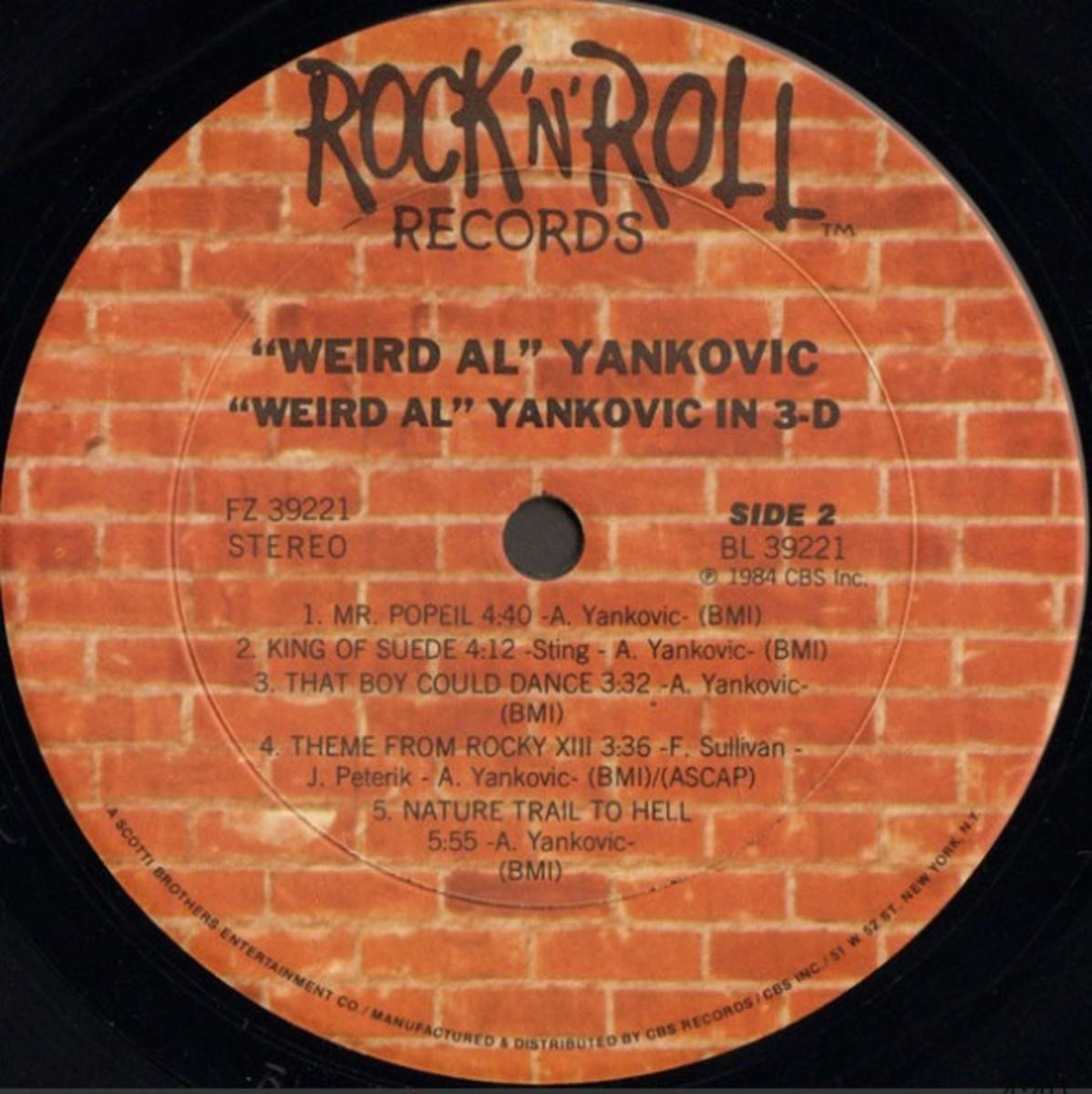 Peterik Weird Al
