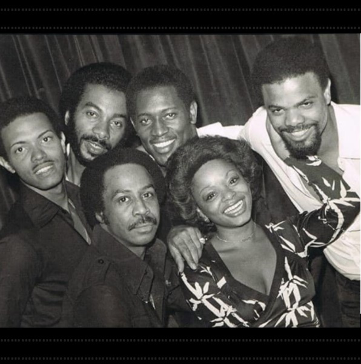 Sharon Paige with Harold Melvin & The Blue Notes, photo courtesy of Gamble Huff Entertainment
