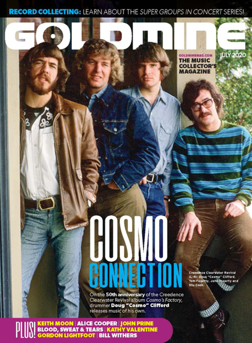 You can read more on Creedence Clearwater Revival in the July 2020 issue of Goldmine Magazine.