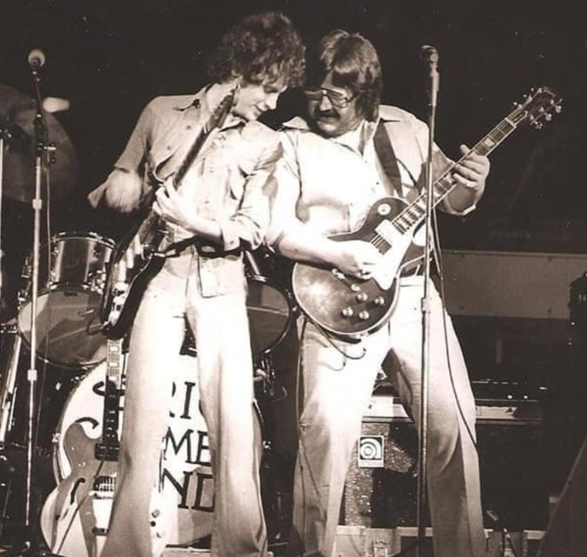 Eric Carmen and Dan Hrdlicka mid-1970s courtesy of Richard Reising