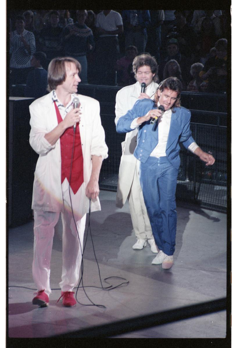 The Monkees, 20th Anniversary Reunion. Photo: Ivor Levene