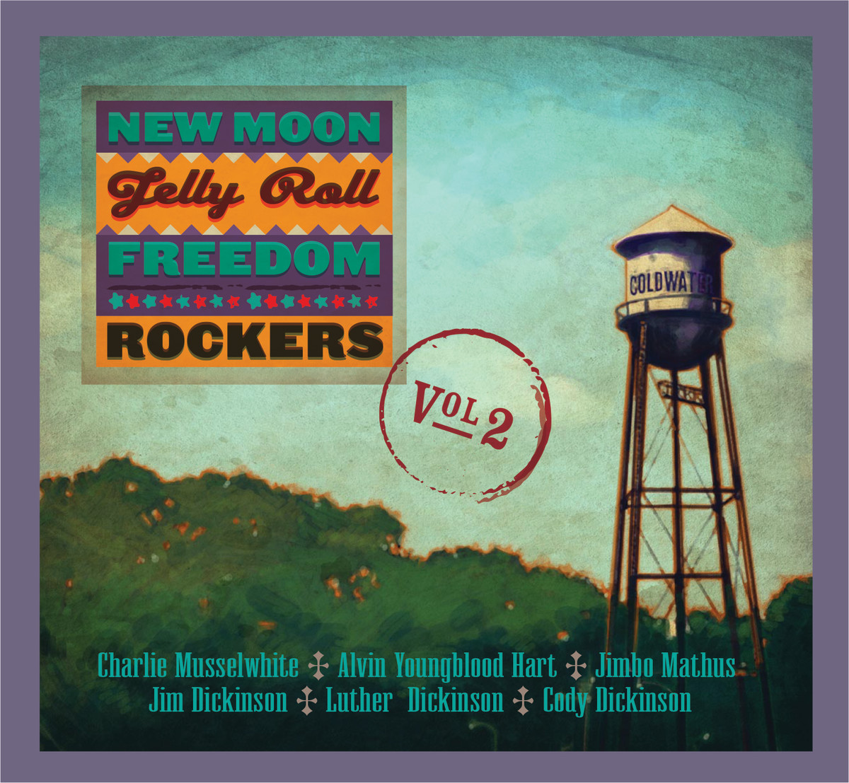 New Moon Jelly Roll Freedom Rockers Vol 2