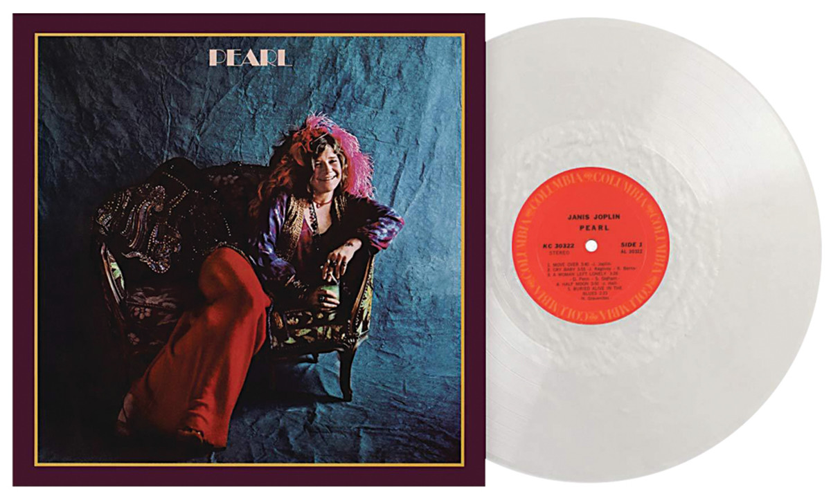 """Vinyl Me, Please's reissue of Pearlincludes a """"pearl white""""-colored pressing."""