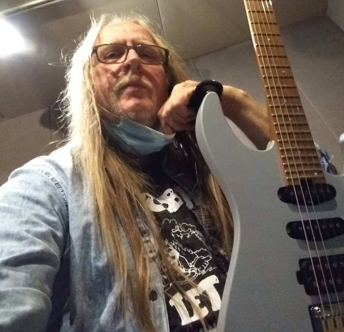 A current photo of Poobah's guitarist/singer Jim Gustafson.