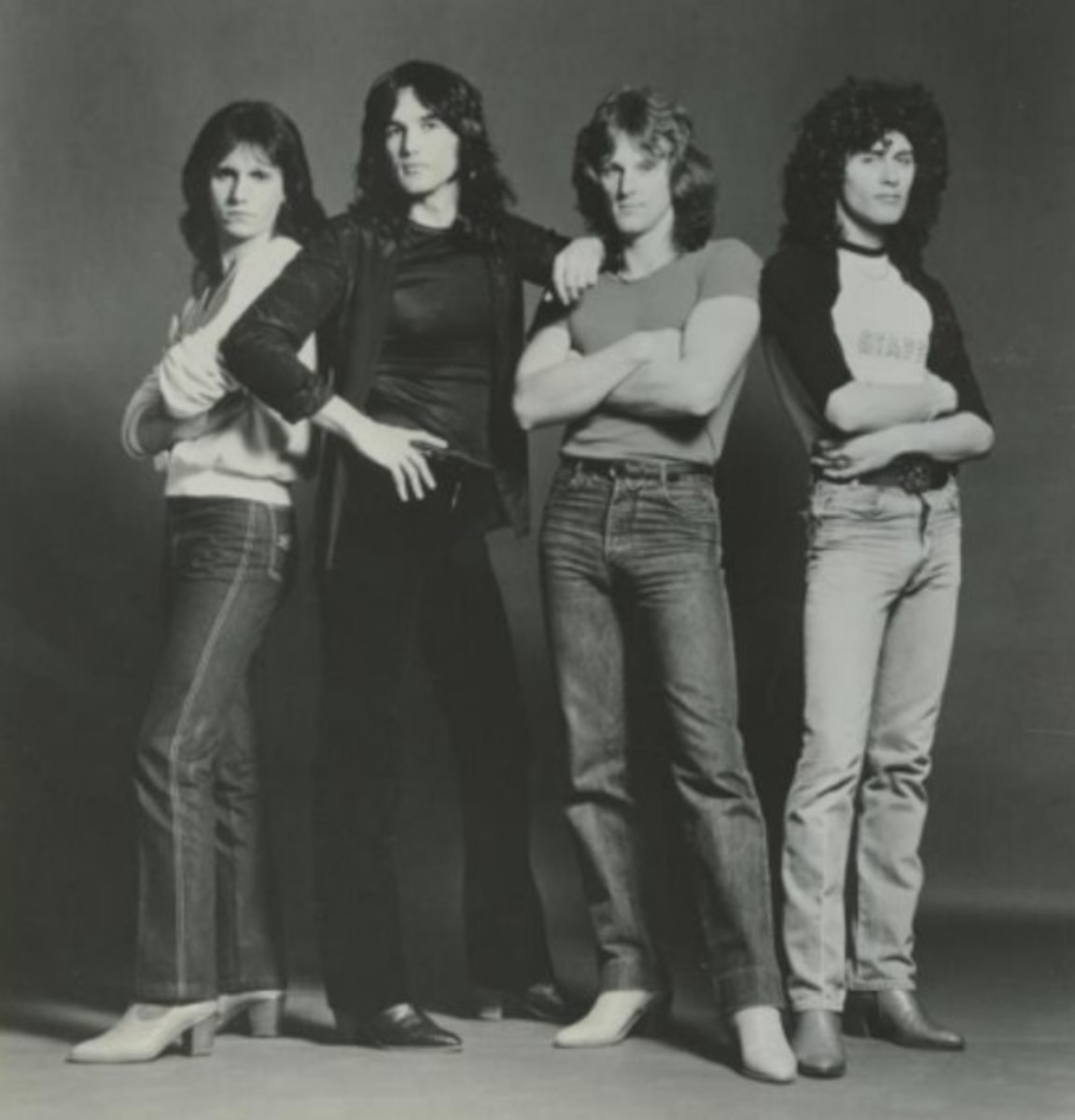 Touch, L to R: Craig Brooks, Mark Mangold, Glenn Kitchcart, and Doug Howard, 1980 publicity photo