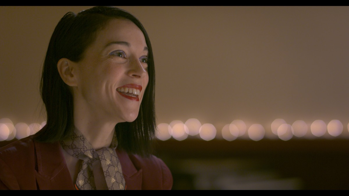 In the film, St. Vincent discusses making the choice between what most would consider a normal life, such as working in data entry, and being a touring musician. (Photo courtesy of Roswell Films)