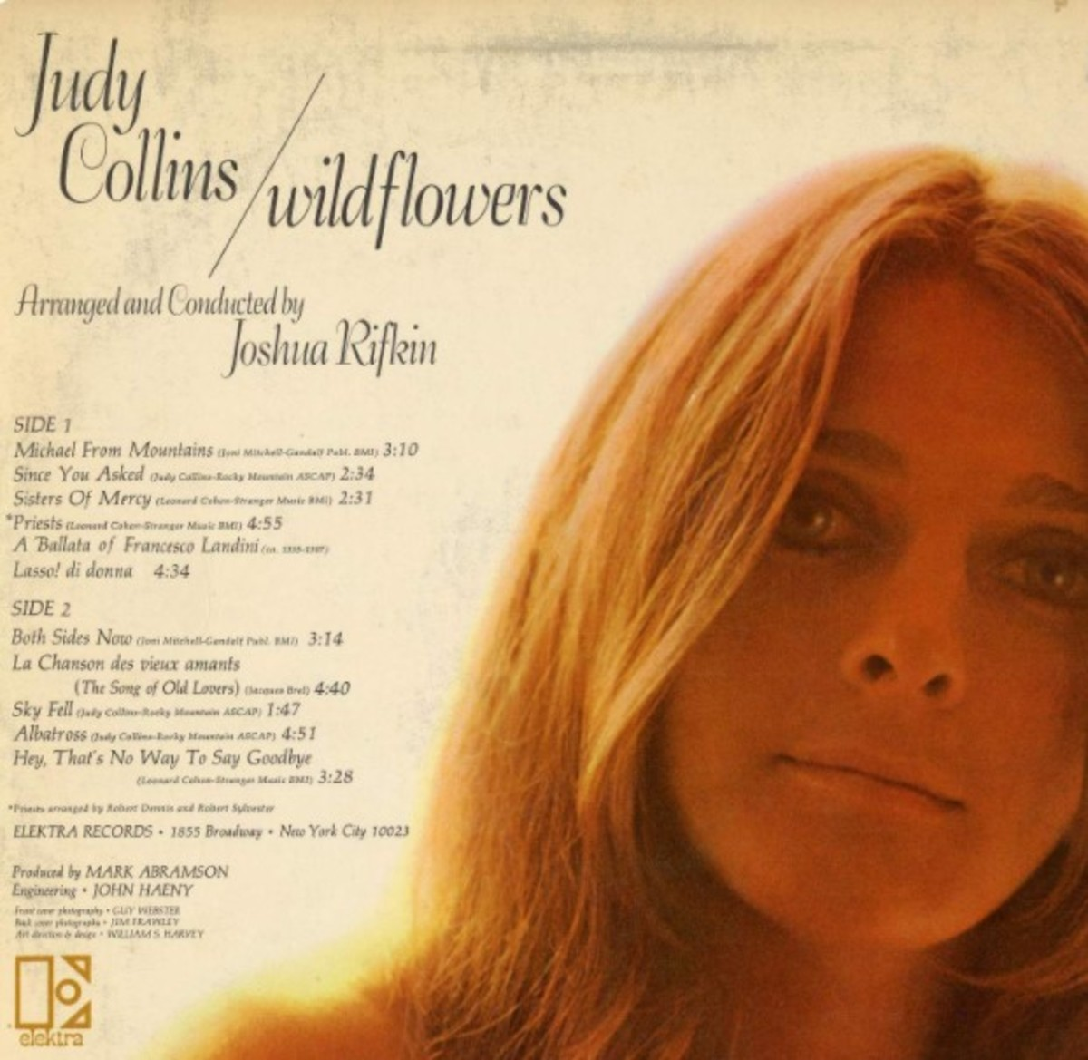 Judy Collins Wildflowers