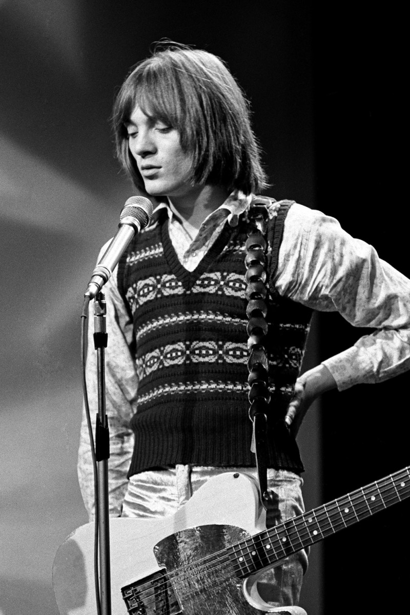 Singer-songwriter and guitarist Steve Marriott. Photo byAndrew Maclear/Hulton Archive/Getty Images.