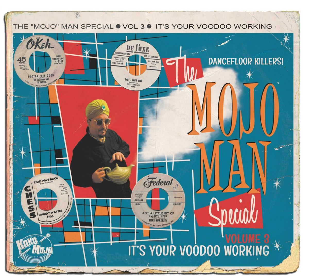 The Mojo Man Volume #3