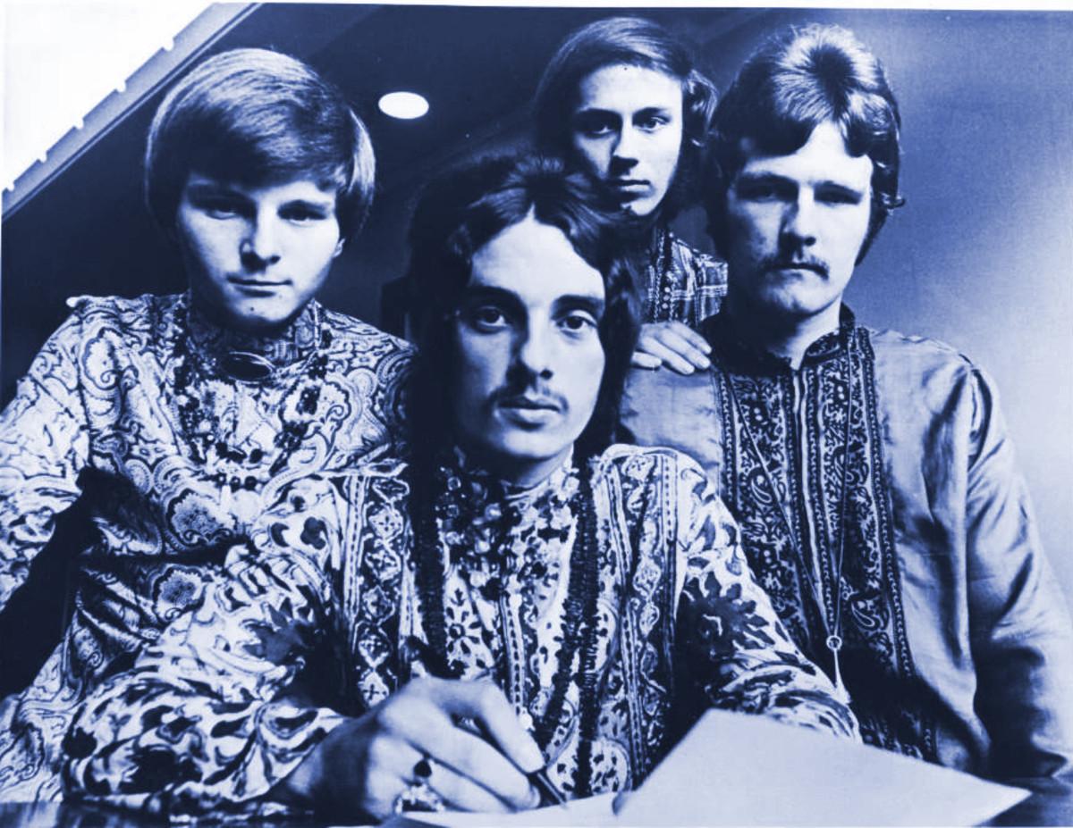 Kaleidoscope (L-R): Peter Daltrey, Danny Bridgman, Eddy Pumer and Steve Clark