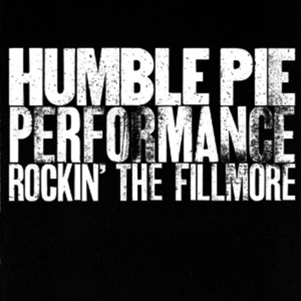 Performance, Rockin theFillmoreHumble Pie
