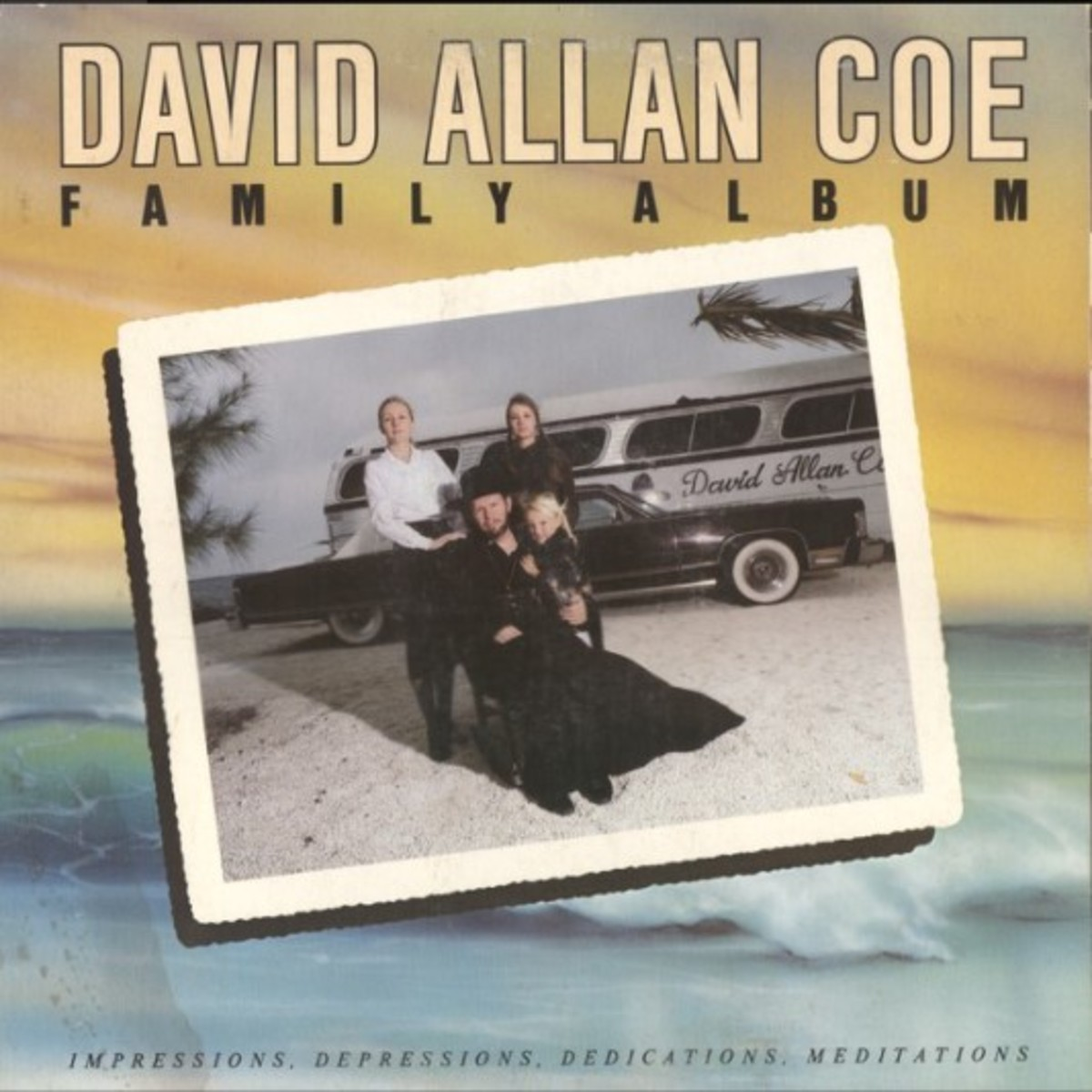 David Allan Coe Family