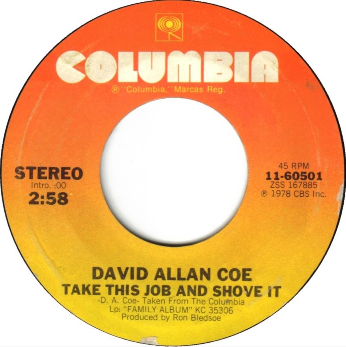 David Allan Coe flip side