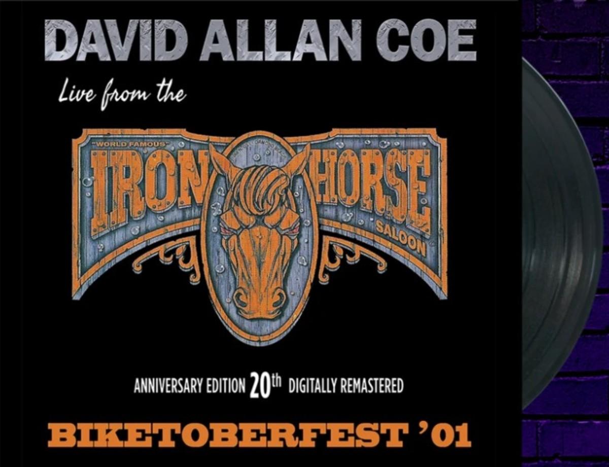 David Allan Coe vinyl