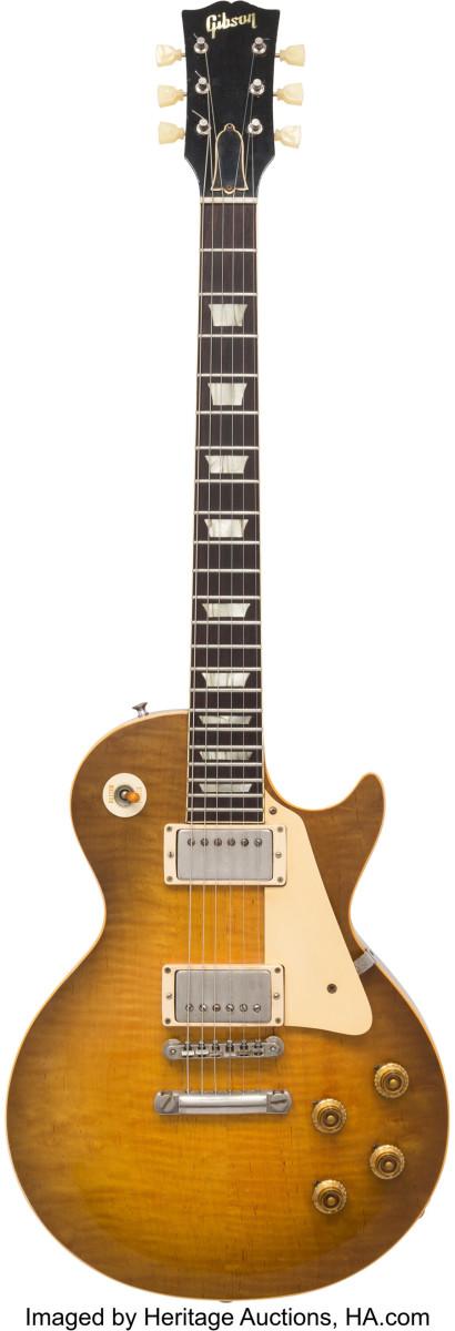 Neal Schon's 1959 Gibson Les Paul Standard Sunburst Solid Body Electric