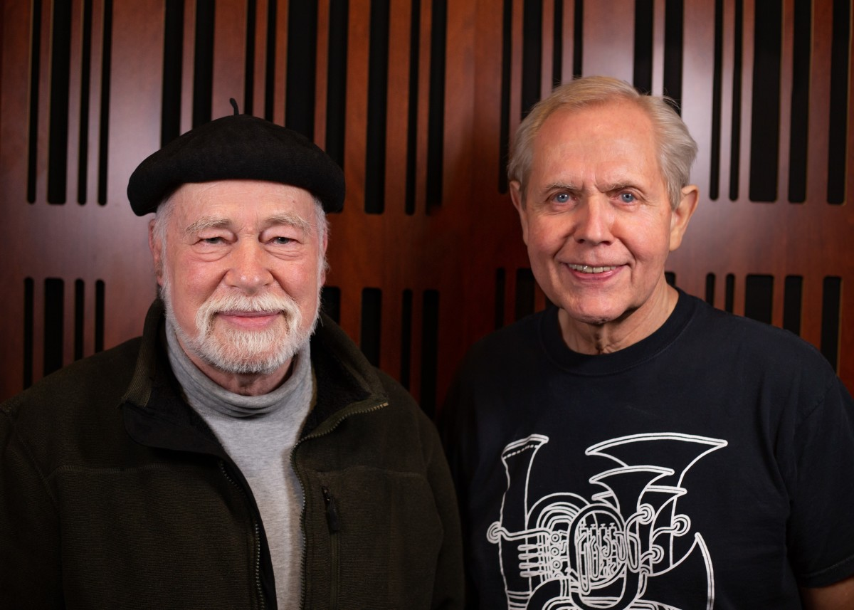 David Angel (left) and Jim Self, courtesy Mouthpiece Music
