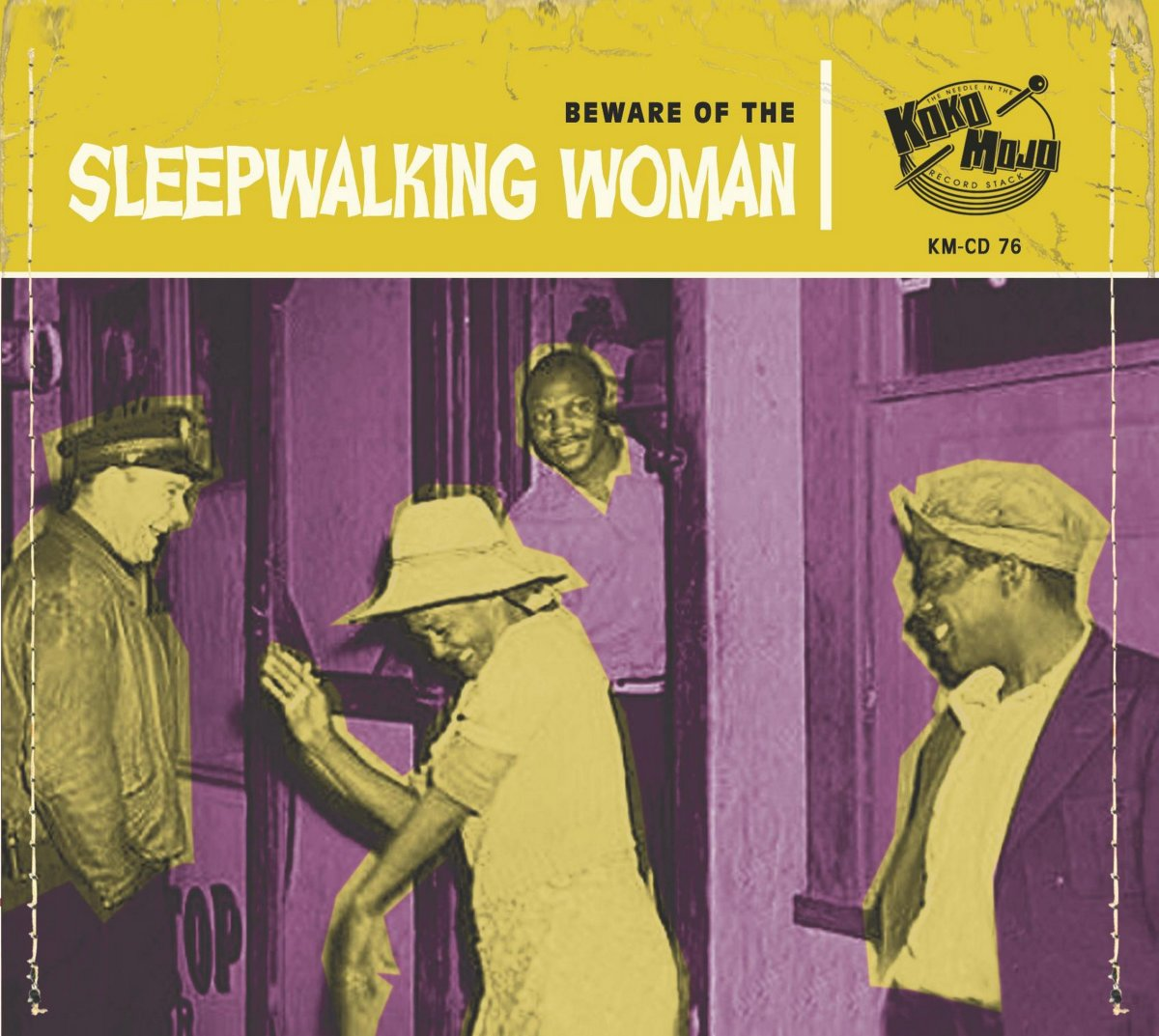 Sleepwalking Woman