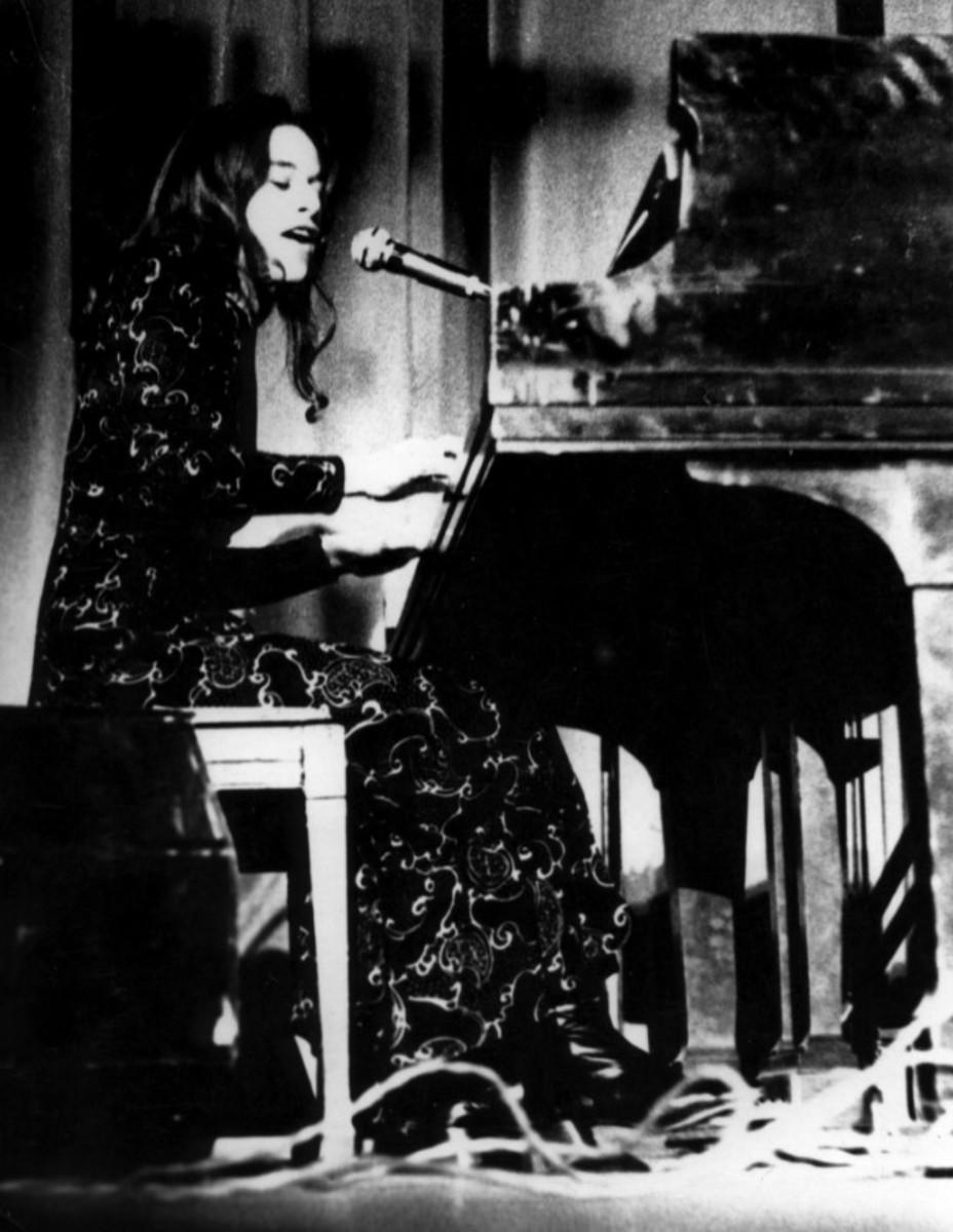 Carole King, Colden Auditorium, Queens College, December 19, 1970