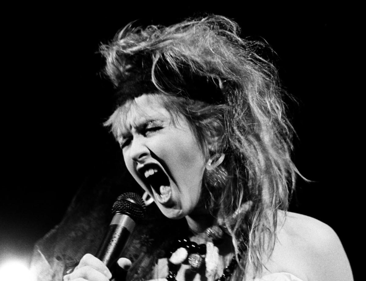 Cyndi Lauper, The Beverly Theatre, February 1984