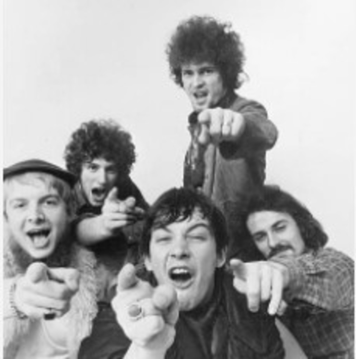 The Animals late 1967-early 1968, left to right, Vic Briggs, Johnny Weider, Eric Burdon, Danny McCulloch, Barry Jenkins, photo by Michael Ochs, Getty Images