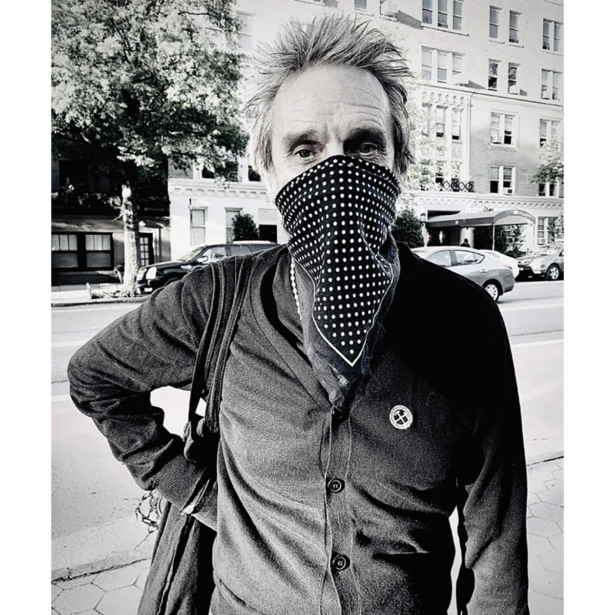 Producer, artist and longtime Clash associate Kosmo Vinyl. Photo taken by actor Matt Dillon.