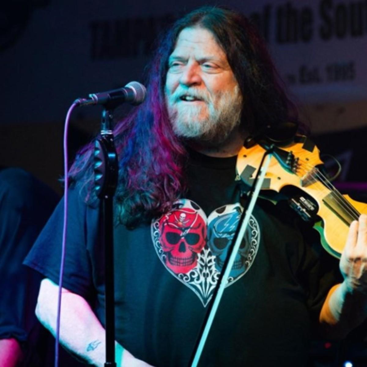 Robby Steinhardt, photo courtesy of Michael Franklin, Solar Music