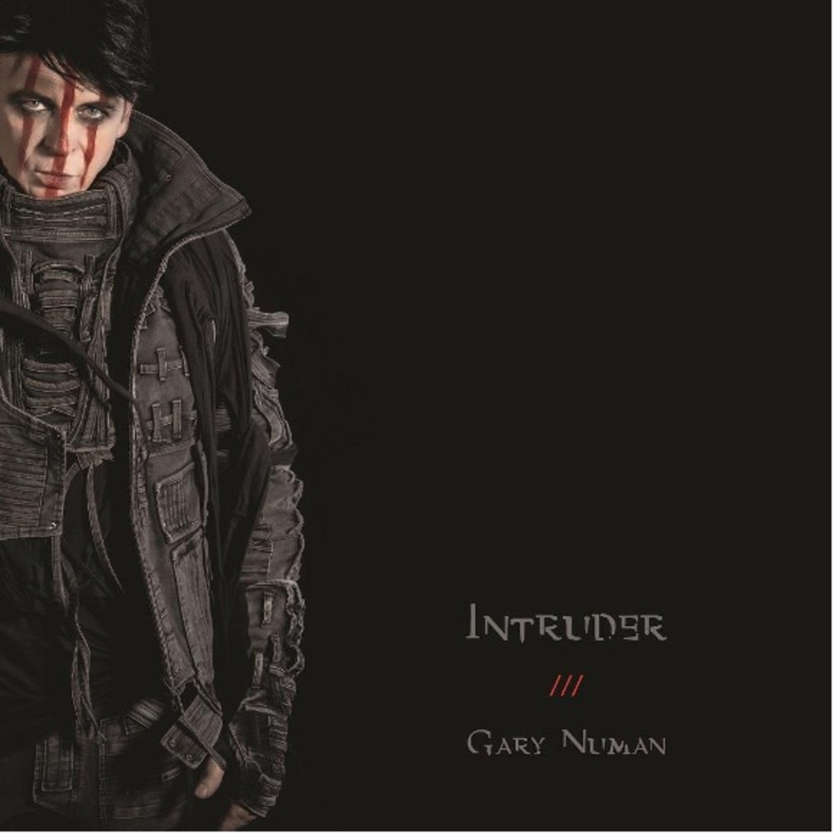 Gary Numan -- Intruder album cover art