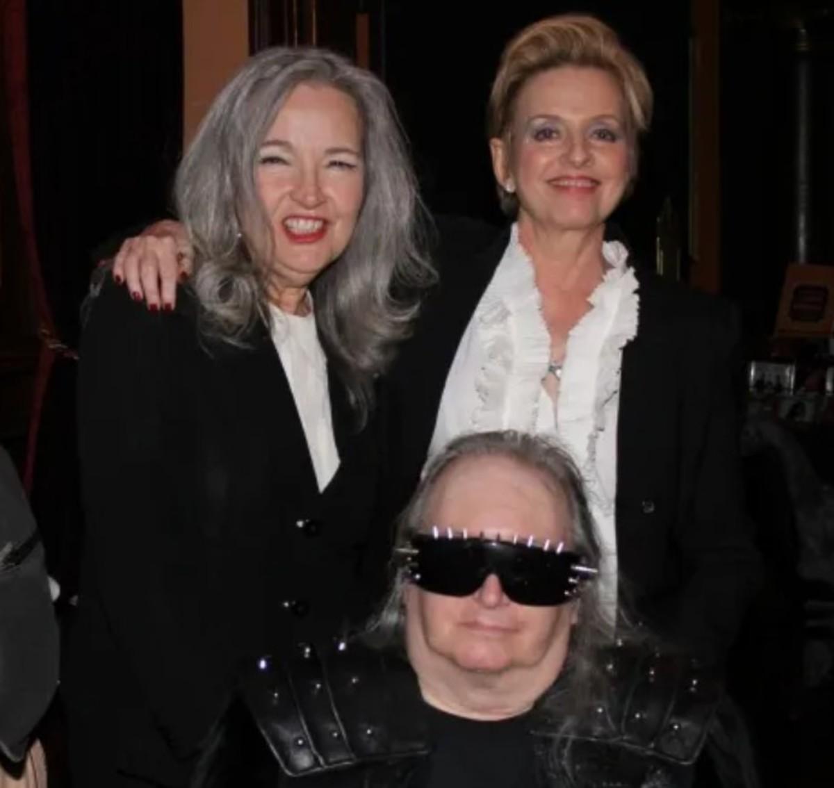 Karla DeVito, Ellen Foley, and Jim Steinman, 2015 photo courtesy of Ellen Foley