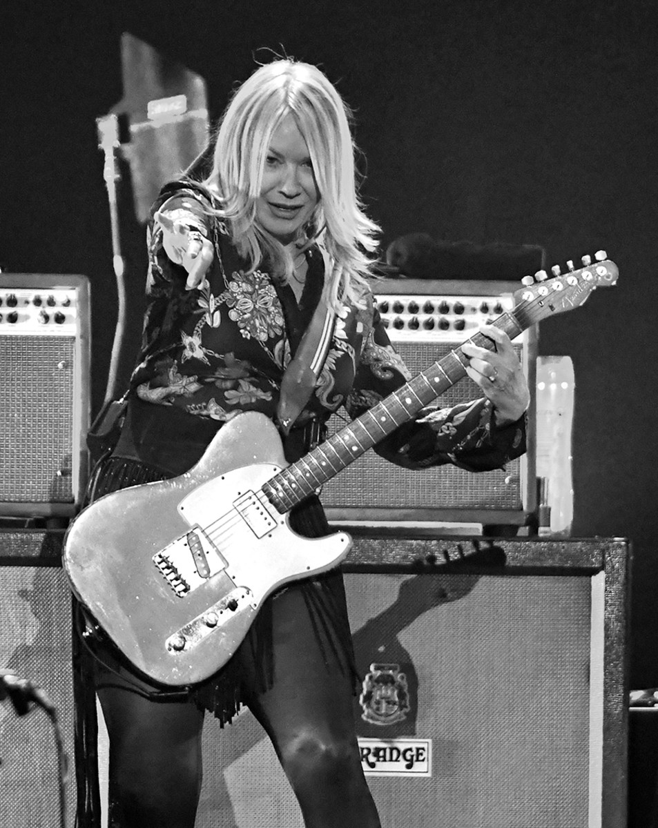 Nancy Wilson of Heart performing onstage during the 2019 iHeartRadio Music Festival at T-Mobile Arena on September 20, 2019 in Las Vegas. Photo byEthan Miller/Getty Images