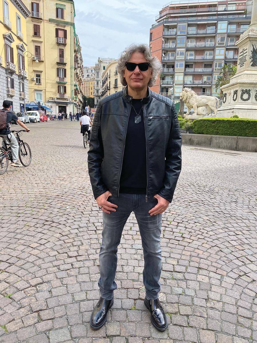 Frontiers Records founder, Serafino Perugino.undefinedPublicity photo