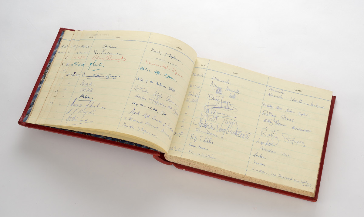 Singapore Embassy Guest Book