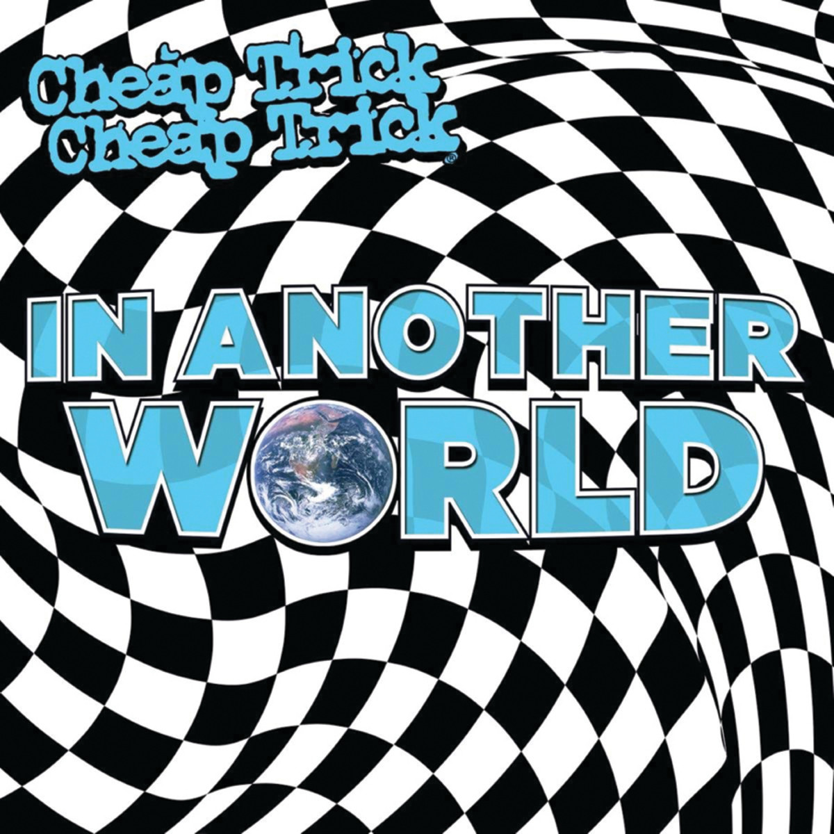 In Another World is also available in blue/white splatter colored vinyl.