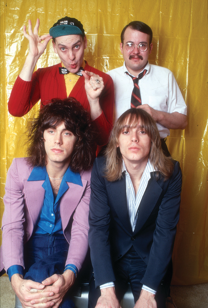 Cheap Trick's original lineup (other page, clockwise from top left): Rick Nielsen, Bun E. Carlos, Robin Zander and Tom Petersson.Photo byMichael Ochs Archives/Getty Images.