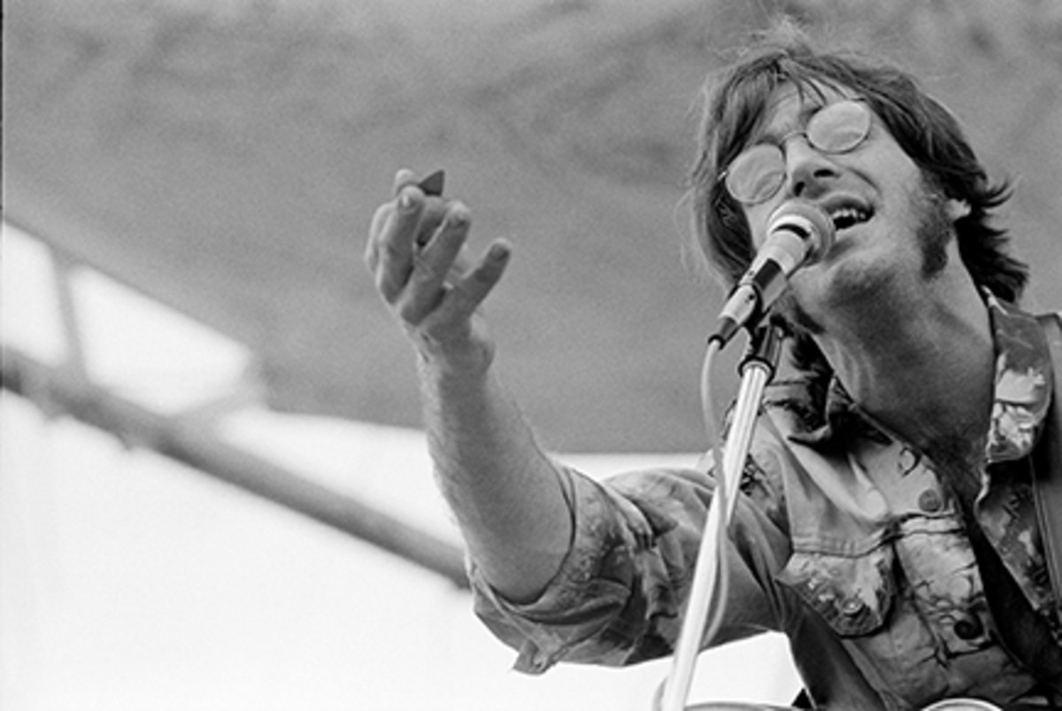 Sebastian performs at Woodstock, August 16, 1969.Photo byGraphic House/Archive Photos/Getty Images .
